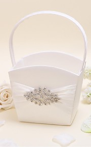 Flower Basket Satin Floral Theme With Sequin