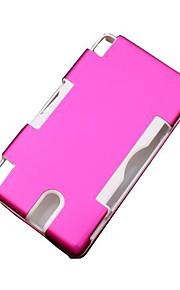 cubierta dura de la cubierta del protector de la piel de metal del juego de aluminio para Nintendo DSL NDSL