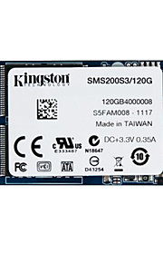 kingston digitale 120GB SSDNow MS200 mSATA (6Gbps) solid state drive voor notebooks tablets en ultrabooks sms200s3 / 120g