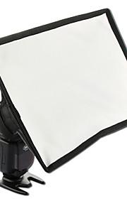 sidande 15x17cm draagbare fotografie mini flash diffuser softbox kit canon nikon samsung dslr Speedlite flitsers