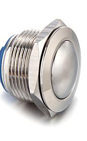5a / 12v drucktaster caliper pressostat φ19m vernickeltes messing klingeltaster