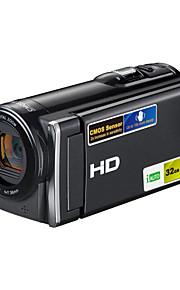 videocamera digitale HDV-601 5 milioni CMOS pixel del display TFT da 3,0 pollici zoom 16x carta di sostegno SD da 32 GB