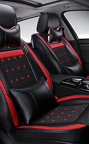 la nueva cubierta de asiento de cuero, alfombra de seda de cuatro cojín de protección general, funda de asiento, ajustar el tamaño de la