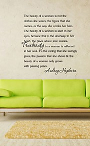 Design Motto Be Your Own Kind Of Beautiful Diy Removable Art Vinyl Quote Wall Sticker Decal Mural Home Art Deco