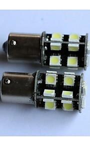 1156/1157 / T20 / T25 5050-19smd auto luce luce del freno posteriore sua volta retromarcia lato lampada luce marcatore bianco blu giallo