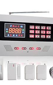 wireless GSM&sistema di allarme domestico di composizione automatica via cavo con schermo a colori e 120 zone senza fili