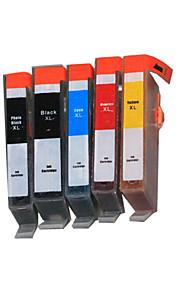 BLOOM®564BK/PGBK/C/M/Y Compatible Ink Cartridge For HP D5445/D5468/C5370/C5383/C5390/C6380/B8550 Full Ink(5 color 1 set)