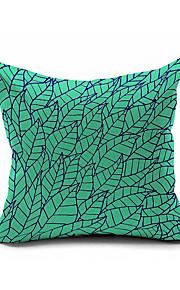 Mint Green Cotton/Linen Pillow Cover , Nature Modern/Contemporary  Pillow Linen Cushion