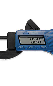"12.7mm / 0,5 ""kulfiber digital tykkelse skydelære mikrometer gauge"