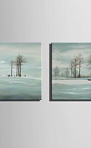 ミニサイズe-ホーム油絵現代の冬のビーチ純粋な手は、フレームレス装飾画を描きます