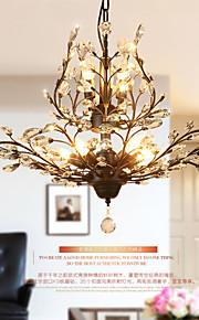 MAX40W Vintage Cristal Peintures Métal LustreSalle de séjour / Chambre à coucher / Salle à manger / Bureau/Bureau de maison / chambre