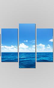 Landschaft / Modern Leinwand drucken Fünf Panele Fertig zum Aufhängen,Quadratisch