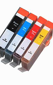 BLOOM®178BK/C/M/Y Compatible Ink Cartridge For HP C6300/C5300/C5400/5510/6510/6520/7510/B109a Full Ink(4 color 1 set)