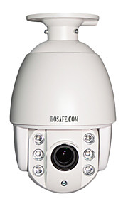 hosafe x2msd1-c 2MP 1080p 4x zoom autofocus poe mini speed dome PTZ-ip camera w / 6 aray geleid weerbestendige netwerkkabel