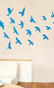 Eco-Friendly Pvc Seagull Wall Sticker For Kids Rooms And Living Rooms Wallpaper Art Stikers Decoration Wall Decorative