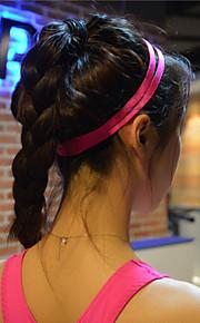 kvinner menn yoga hår band sport pannebånd anti-slip elastisk gummi svettebånd fotball yoga løping sykling