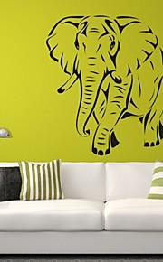 חיות / רומנטיקה / אופנה / אבסטרקט / פנטזיה מדבקות קיר מדבקות קיר מטוס,PVC M:42*47cm/ L:55*61cm