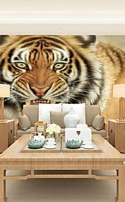아트 데코 벽지 콘템포라리 벽 취재,기타 Large Mural Wallpaper Tiger