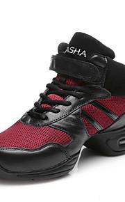 Sapatos de Dança(Preto / Dourado) -Feminino / Masculino / Infantil-Não Personalizável-Dança do Ventre / Latina / Tênis de Dança / Moderna
