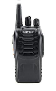 Baofeng bf-888s uhf fm transceiver høj belysning lommelygte walkie talkie