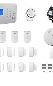toccare gsm tastiera&sistema di allarme doppio della rete PSTN
