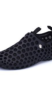 Черный / Синий / Тёмно-синий-Мужская обувь-Для прогулок / На каждый день / Для занятий спортом-Синтетика / Тюль-Кроссовки