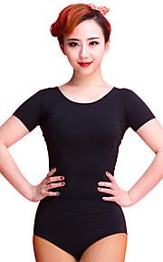 Latin Dance Leotards Women's Training Chinlon / Lace 1 Piece