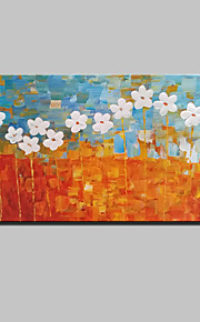 Lager Handmade Landscape Flowers Oil Painting On Canvas Wall Paintings For Living Room Home Decor Whit Frame