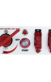 flip-up starten contactslot panel en accessoires voor racing sport (DC 12V)