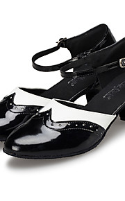 Customizable Women's Modern Dance Shoes Latin / Jazz / Swing Shoes / Salsa / Samba Customized HeelMulti-color /