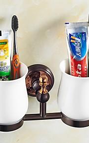 歯ブラシホルダー / 浴室小物,ネオクラシック グリーン ウォールマウント