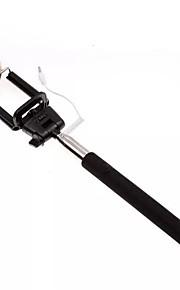 tegneserie-8 3d solid mønster selfie stick