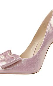 Chaussures Femme-Bureau & Travail / Décontracté-Noir / Rose / Rouge / Argent / Gris / Or-Talon Aiguille-Talons / Bout Pointu / Bout Fermé-