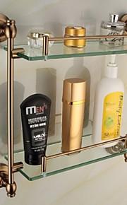 Mensola del bagno / Portasapone da doccia,Antico Lega di zinco A muro