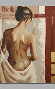 ハングアップする準備ができてstretchered女性のためのdecoratitive絵画壁の芸術のギフト