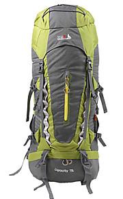 70 L mochila Acampada y Senderismo / Escalar / Deportes de ocio / Viaje Al Aire LibreImpermeable / Secado Rápido / A prueba de lluvia / A