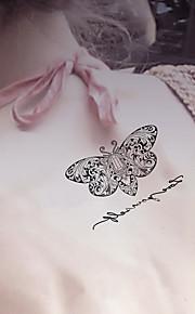 Fashion Temporary Tattoos Sexy Body Art Waterproof Tattoo Stickers Butterfly 5PCS