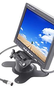 7 inch TFT-LCD 800 * 480 truck achteruitkijkspiegel-monitor met voet achteruit back-up camera van hoge kwaliteit