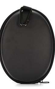 klassiek zwart pu opbergtas headset zak doos voor beats studio 1.0 hoofdband hoofdtelefoon 19 * 14 * 8cm