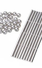 36pcs magneettisauvat 27pcs magic kuutio pallot yhdistelmä magneetti taika kuutio lelut