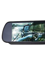 7 inch tft-lcd parking auto achteruitkijkspiegel-monitor met stand achteruit back-up camera van hoge kwaliteit