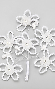 Women's / Flower Girl's Alloy / Imitation Pearl Headpiece-Wedding / Special Occasion Hair Pin 1 Piece