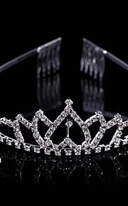 Donne / Bambina Ottone Copricapo-Matrimonio / Occasioni speciali Tiare 1 pezzo