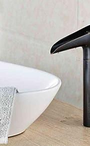 Conjunto Central Single Handle Uma Abertura in Latão Antiquado Torneira pia do banheiro