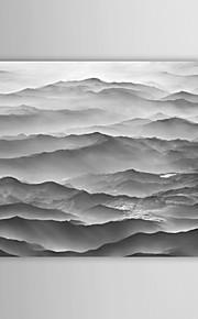 Landskap Canvastryck En panel Redo att hänga,Horisontell