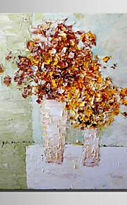花瓶純粋な手で花のミニサイズe-ホーム油絵現代の束は、フレームレス装飾画を描きます