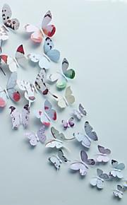 Animais / Romance / Moda / Floral / Formas / 3D Wall Stickers Autocolantes 3D para Parede,pvc 15*15cm