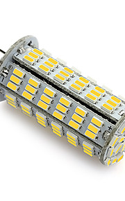 Ampoules Maïs LED Blanc Chaud / Blanc Froid 1 pièce T G4 6W 126 SMD 3014 500-540 lm AC 100-240 V