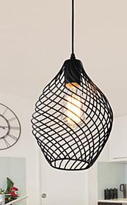 Max 60W Retro Mini Estilo Pintura Metal Lámparas ColgantesSala de estar / Dormitorio / Comedor / Cocina / Habitación de estudio/Oficina /