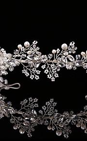 Donne Strass / Lega / Perle false Copricapo-Matrimonio / Occasioni speciali / All'aperto Fasce 1 pezzo